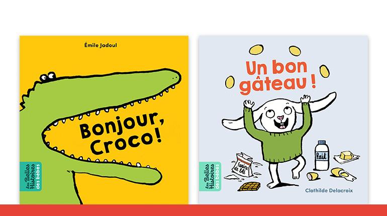 """Livres de la collection """"Les Belles Histoires des bébés"""""""