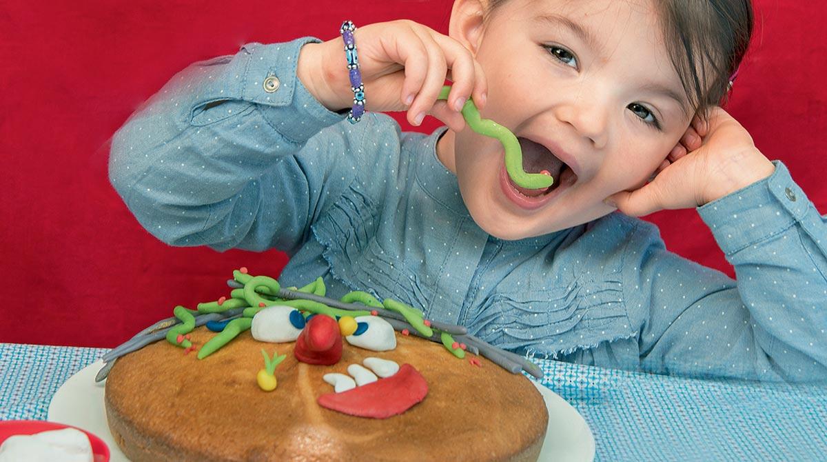 Un gâteau de sorcière pour Halloween