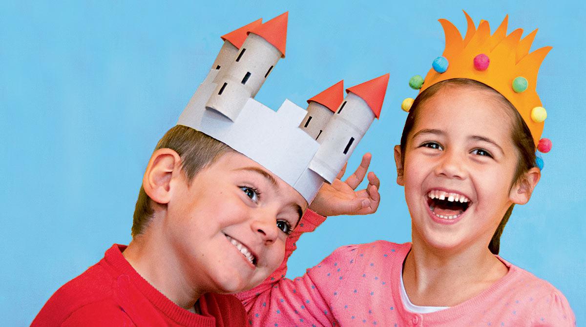Bricolage enfant:deux couronnes des rois faciles à fabriquer