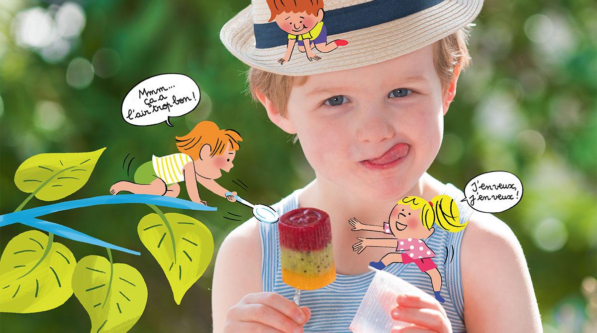 Recette:la glace tutti frutti