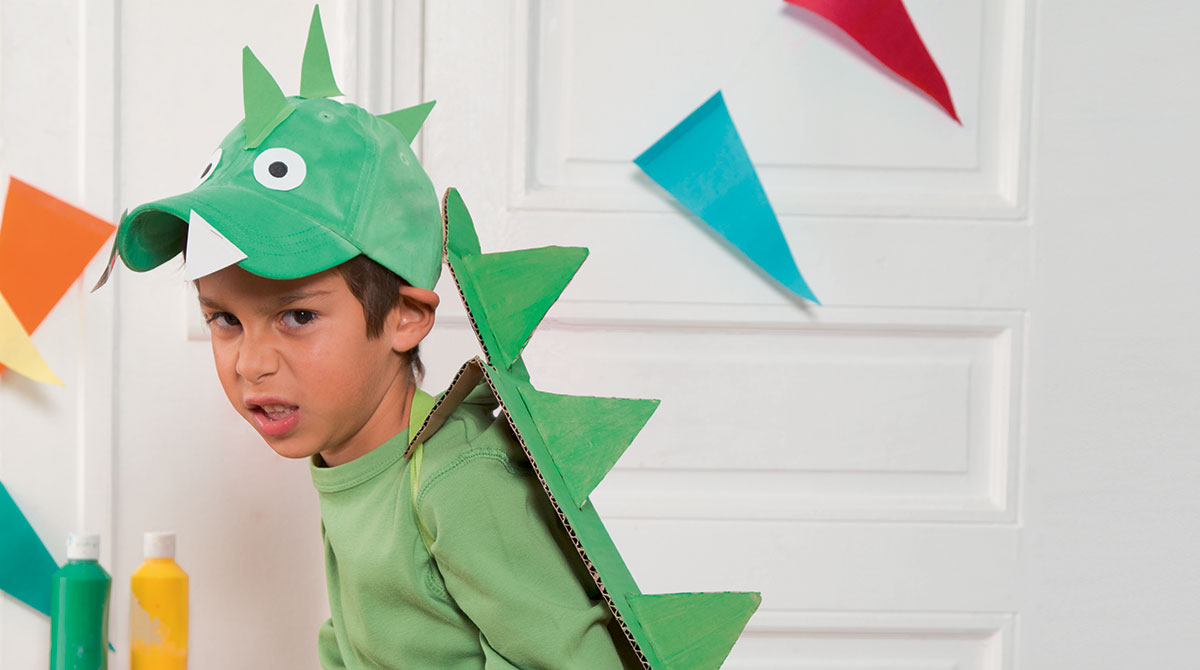 Bricolage : le déguisement de super-dragon