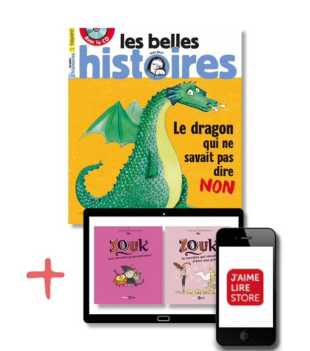Les Belles Histoires + 2 BD numériques