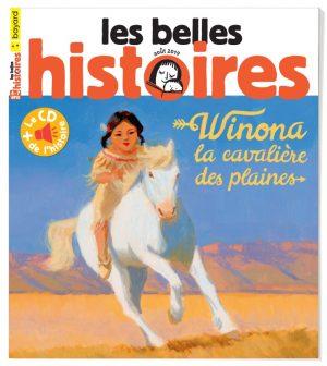 Couverture du magazine Les Belles Histoires, n°560, août 2019