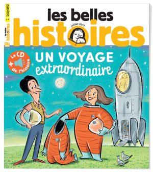 Couverture du magazine Les Belles Histoires, n°559, juillet 2019