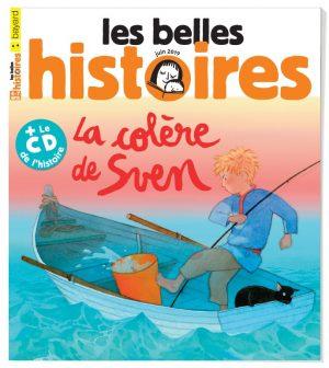 Couverture du magazine Les Belles Histoires, n°558, juin 2019