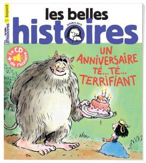 Couverture du magazine Les Belles Histoires, n°562, octobre 2019