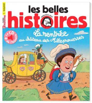 Couverture du magazine Les Belles Histoires, n°561, septembre 2019