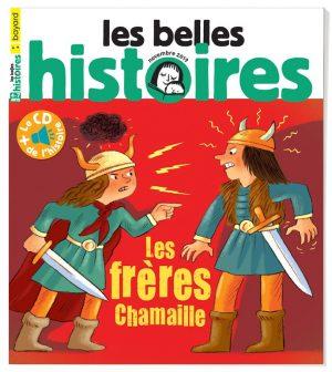 Couverture du magazine Les Belles Histoires, n°563, novembre 2019