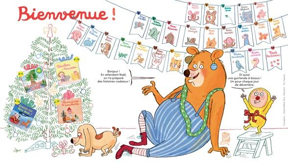 Bienvenue dans Mes premières Belles Histoires, n°229, décembre 2019 - Illustration : Tor Freeman.