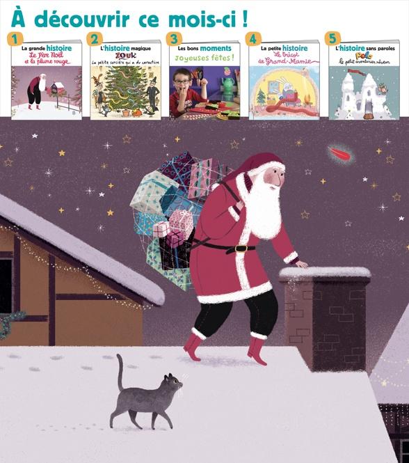 Sommaire du magazine Les Belles Histoires, n°564, décembre 2019