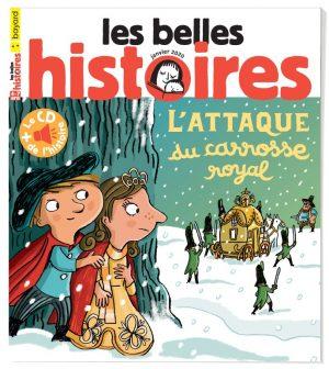 Couverture du magazine Les Belles Histoires, n°565, janvier 2020