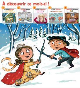 Sommaire du magazine Les Belles Histoires, n°565, janvier 2020