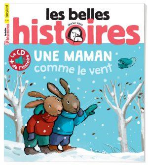 Couverture du magazine Les Belles Histoires, n°566, février 2020