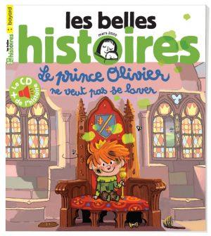 Couverture du magazine Les Belles Histoires, n°567, mars 2020