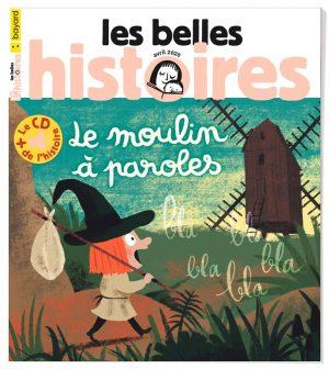 Couverture du magazine Les Belles Histoires, n°568, avril 2020