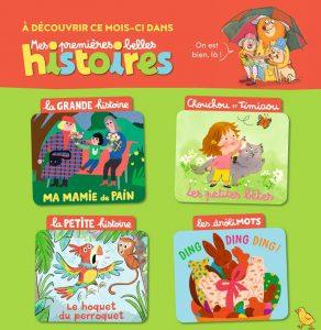 Sommaire de Mes premières Belles Histoires, n°233, avril 2020