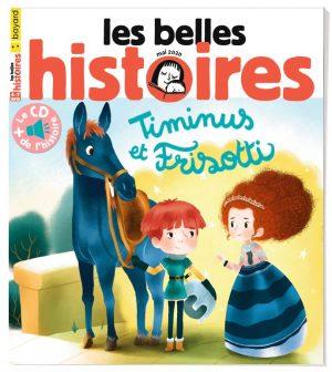 Couverture du magazine Les Belles Histoires, n°569, mai 2020