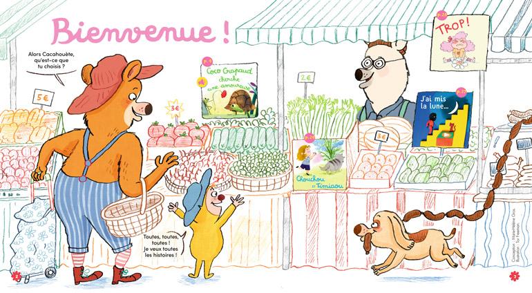 Bienvenue dans Mes premières Belles Histoires, n°234, mai 2020 - Illustration : Tor Freeman.