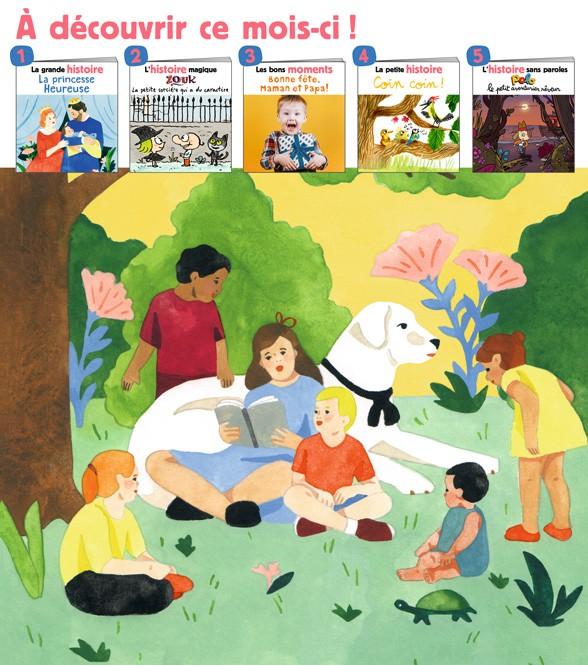 Sommaire du magazine Les Belles Histoires, n°570, juin 2020