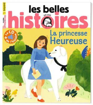 Couverture du magazine Les Belles Histoires, n°570, juin 2020