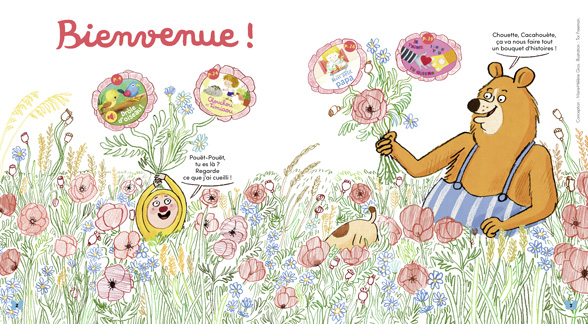 Bienvenue dans Mes premières Belles Histoires, n°235, juin 2020 - Illustration : Tor Freeman.