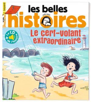 Couverture du magazine Les Belles Histoires, n°572, aout 2020