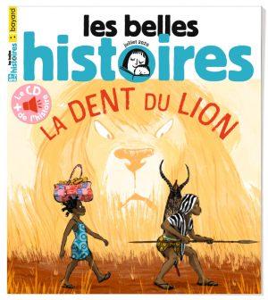 Couverture du magazine Les Belles Histoires, n°571, juillet 2020