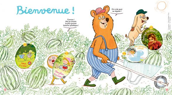 Sommaire de Mes premières Belles Histoires, n°236, juillet 2020