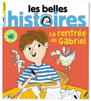 Couverture du magazine Les Belles Histoires, n°573, septembre 2020