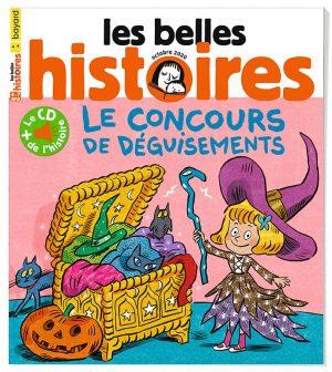 Couverture du magazine Les Belles Histoires, n°574, octobre 2020