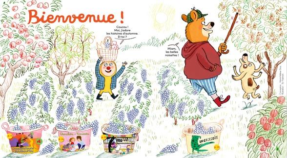 Bienvenue dans Mes premières Belles Histoires, n°239, octobre 2020 - Illustration : Tor Freeman.