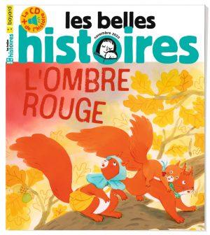 Couverture du magazine Les Belles Histoires, n°575, novembre 2020
