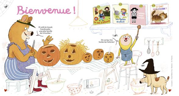 Bienvenue dans Mes premières Belles Histoires, n°240, novembre 2020 - Illustration : Tor Freeman.