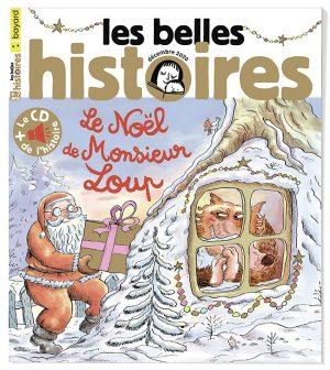 Couverture du magazine Les Belles Histoires, n°576, décembre 2020