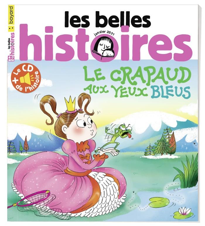 Couverture du magazine Les Belles Histoires n°577, janvier 2021.