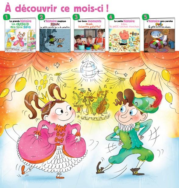 Au sommaire du magazine Les Belles Histoiresn°577, janvier2021.