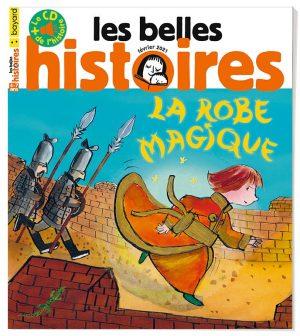 Couverture du magazine Les Belles Histoires n°578, février 2021.