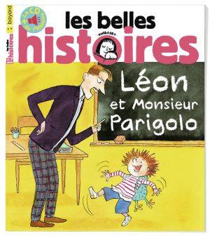Couverture du magazine Les Belles Histoires n°580, avril 2021.