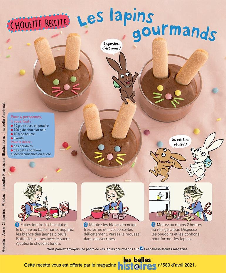 © Isabelle Franciosa. Illustration : Isabelle Assémat. Les lapins gourmands.