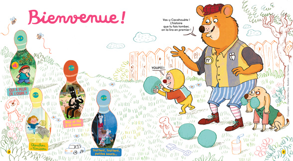 Bienvenue dans Mes premières Belles Histoires, n°245, avril 2021 - Illustration : Tor Freeman.