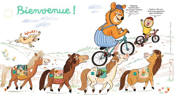 Bienvenue dans Mes premières Belles Histoires, n°246, mai 2021 - Illustration : Tor Freeman.