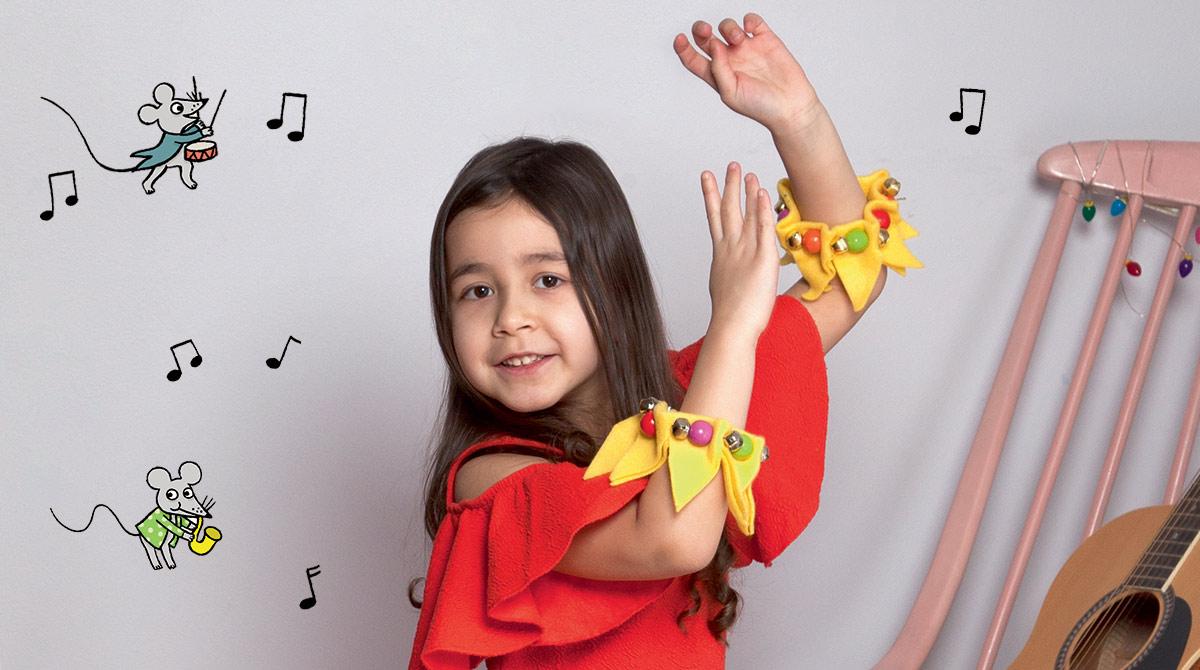 Brico : les bracelets à grelots. Photos : Isabelle Franciosa. Illustrations : Isabelle Assémat.