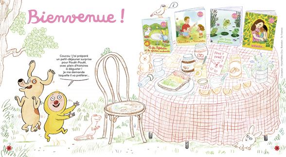 Bienvenue dans Mes premières Belles Histoires, n°247, juin 2021 - Illustration : Tor Freeman.