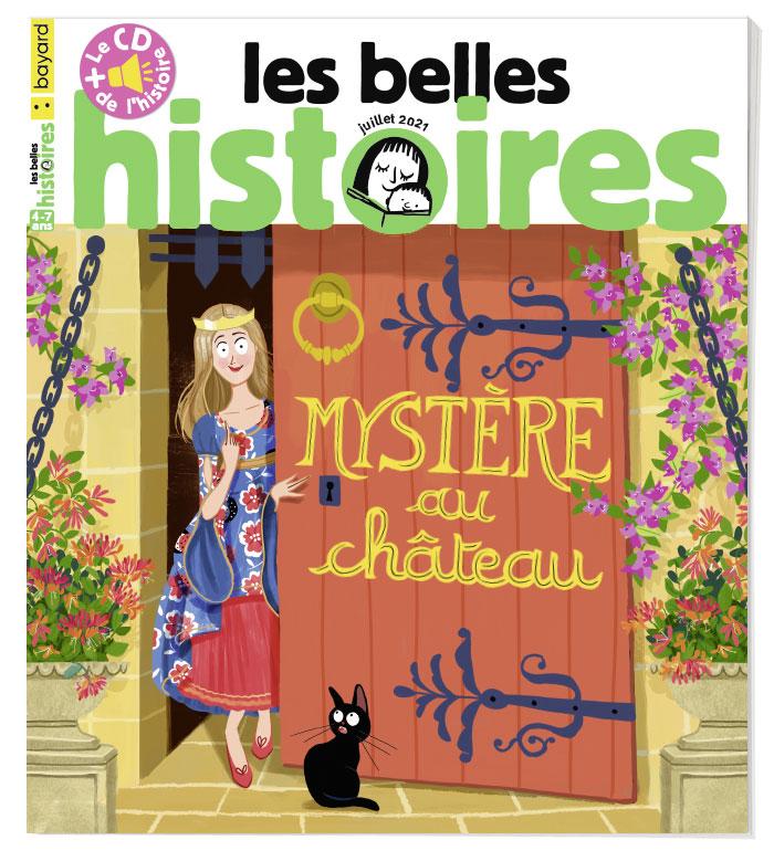 Couverture du magazine Les Belles Histoires n°583, juillet 2021.