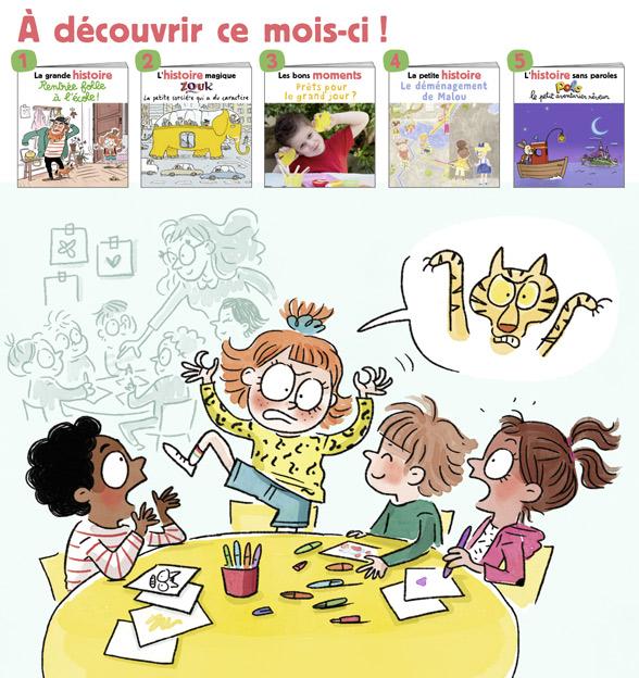 Sommaire du magazine Les Belles Histoires n°585, septembre 2021.