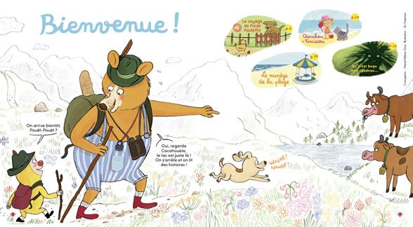 Bienvenue dans Mes premières Belles Histoires, n°249, août 2021 - Illustration : Tor Freeman.