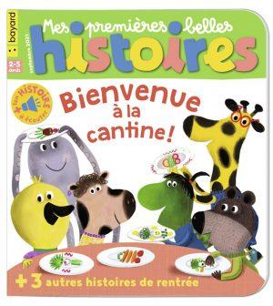Couverture de Mes premières Belles Histoires, n°250, septembre 2021.