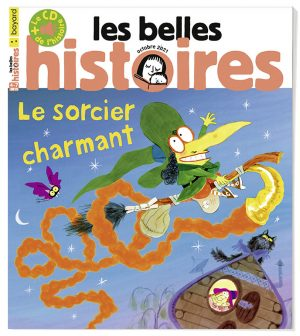 Couverture du magazine Les Belles Histoires n°586, octobre 2021.