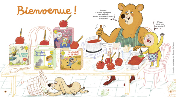Bienvenue dans Mes premières Belles Histoires, n°251, octobre 2021 - Illustration : Tor Freeman.