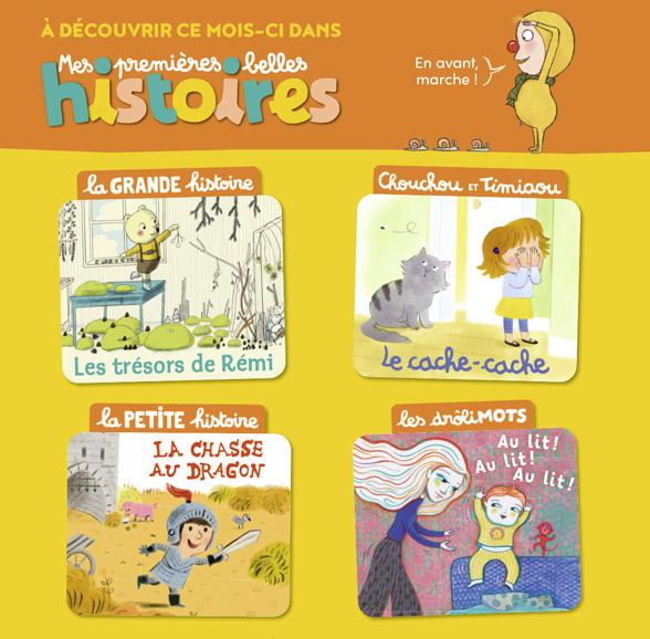 Sommaire de Mes premières Belles Histoires, n°251, octobre 2021.